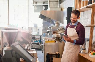 What should you consider when going self-employed?
