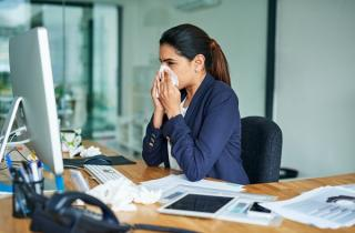 Employees reluctant to stay at home when ill