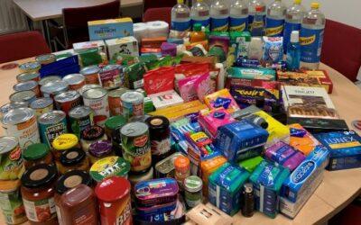 Ellacotts staff donate to Banbury Foodbank