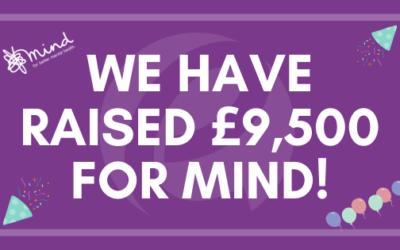 Ellacotts raise a massive £9,500 for mental health charity Mind