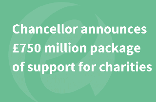 Chancellor announces £750 million package of support for UK Charities