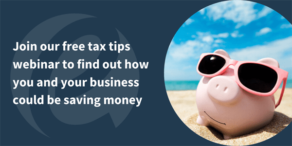 Top tax tips webinar