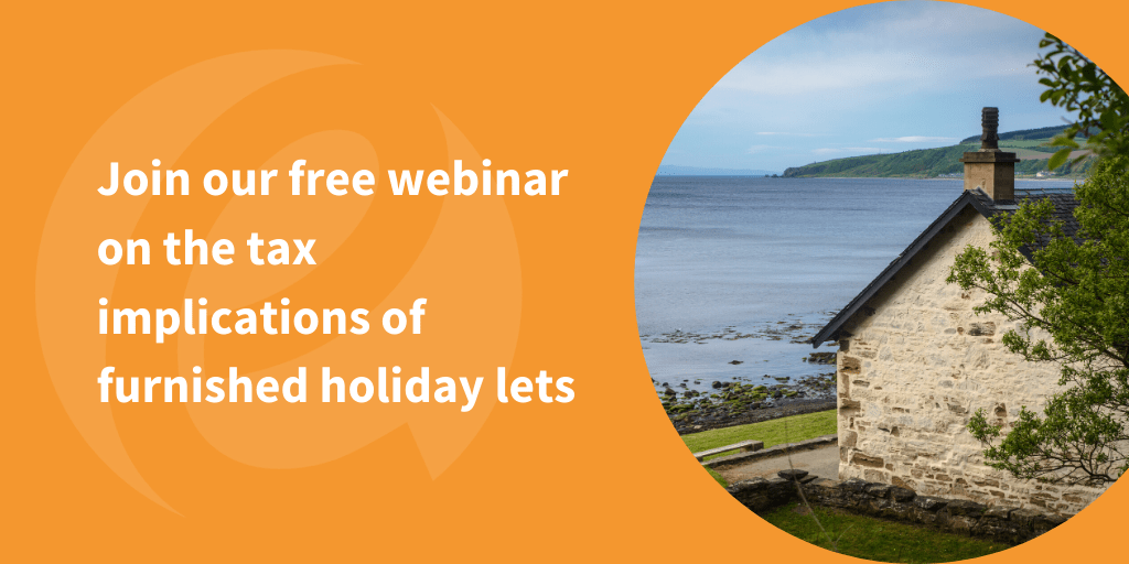Tax implications of holiday accommodation webinar