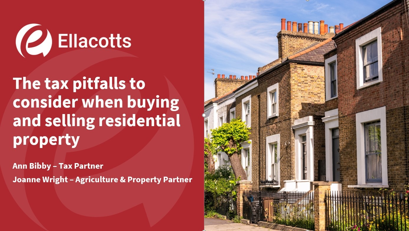 Buying and selling residential property
