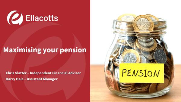 Pensions webinar