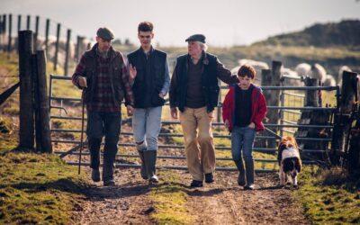 Splitting up the family farm